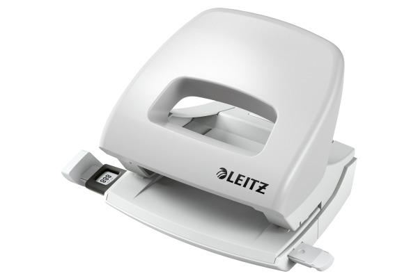 LEITZ Bürolocher NewNeXXt 1.6mm 50380085 grau 16 Blatt