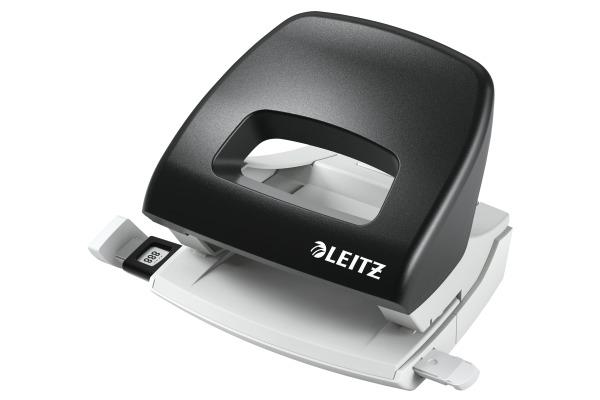LEITZ Bürolocher NewNeXXt 5.5mm 50380095 schwarz f. 16 Blatt