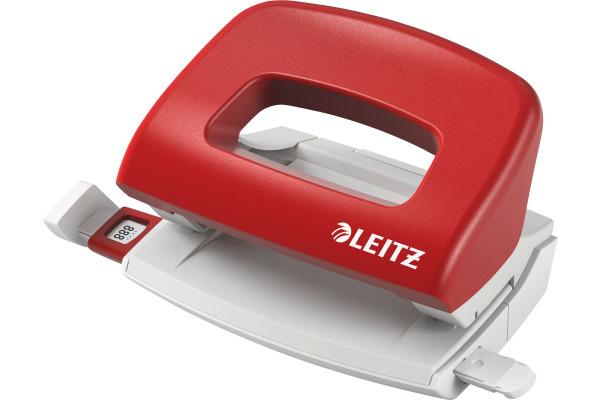 LEITZ Bürolocher NewNeXXt 0.8mm 50580025 rot 10 Blatt