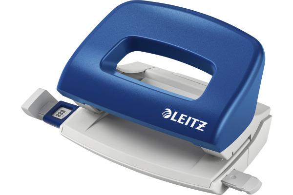 LEITZ Bürolocher NewNeXXt 0.8mm 50580035 blau 10 Blatt