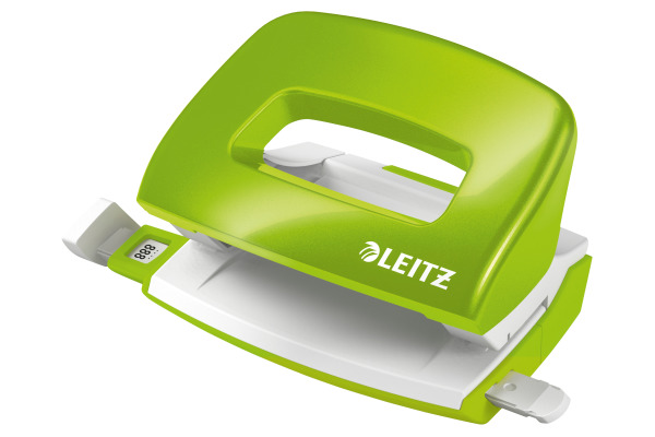 LEITZ Locher NewNeXXt 5060 WOW 50601054 grün, 10 Blatt mini