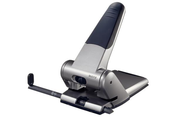 LEITZ Registraturlocher 6.3mm 51800084 silberer 65 Blatt