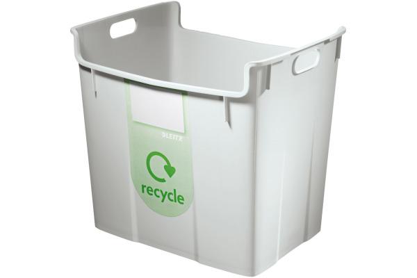 LEITZ Papierkorb Re:Cycle 52090085 grau 40lt