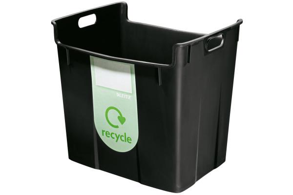 LEITZ Papierkorb Re:Cycle 52090095 schwarz 40lt