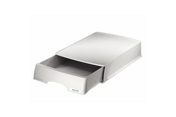 LEITZ Plus Briefkorb A4 52100085 grau
