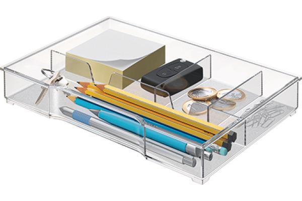 LEITZ Schubladeneinsatz WOW Cube 52150002 transparent