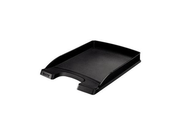 LEITZ Plus Briefkorb, flach A4 52370095 schwarz