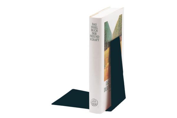 LEITZ Buchstütze Metall 52980095 schwarz 12,5x14,5x14cm