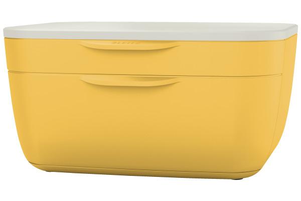 LEITZ Schubladenset Cosy A4 53570019 gelb/weiss