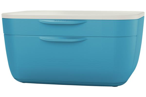 LEITZ Schubladenset Cosy A4 53570061 blau/weiss
