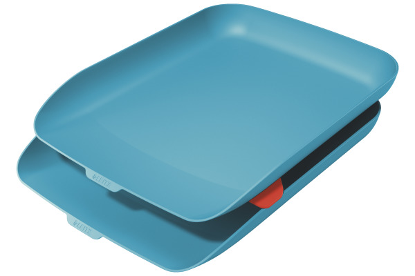 LEITZ Briefkorb Cosy A4 53581061 blau