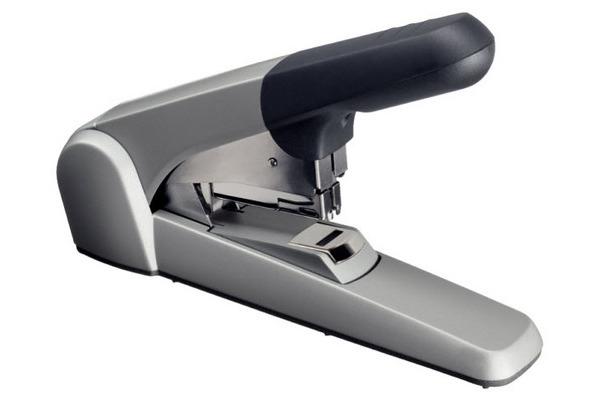 LEITZ Flachheftmaschine 5552 6mm 55520084 silber, für 2-60 Blatt