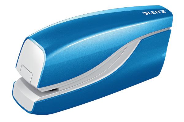 LEITZ Heftapparat NewNeXXt WOW 55661036 blau, 10 Blatt
