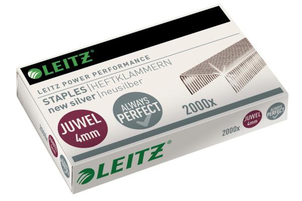 LEITZ Heftklammern Juwel 4mm 56410000 2000 Stück