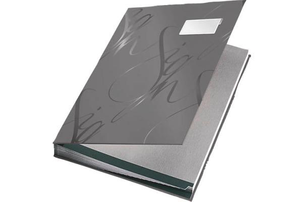 LEITZ Unterschriftenmappe A4 57450085 grau