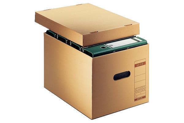 LEITZ Archiv-Schachtel Prestigemium 60810000 braun...
