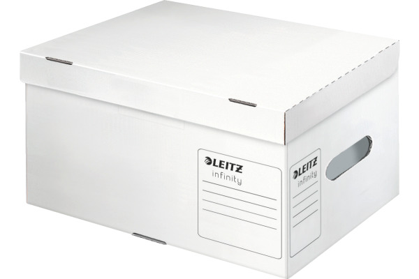 Leitz Boite Archive Infinitiy 61050000 Blanc A Couver 355x255x190mm Internetstore Ch Boites Recipients