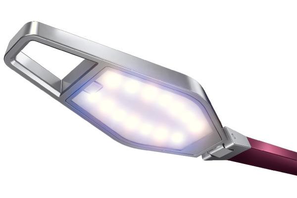 LEITZ Tischlampe Style LED 62080028 granat rot