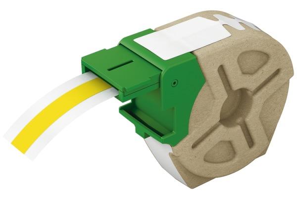 LEITZ Endlosettiket.Kassette PP 70150015 12mmx10m gelb permanent