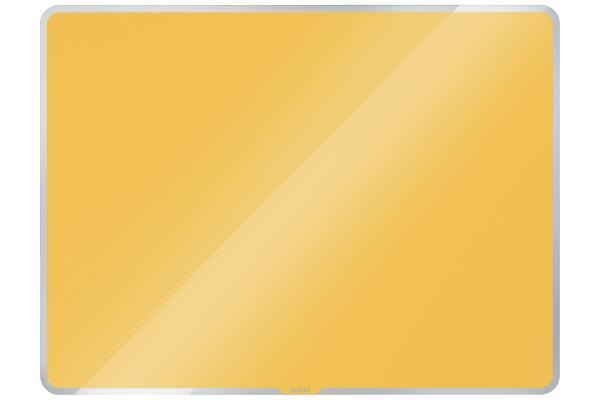 LEITZ Glass Whiteboard Cosy 7042-00-19 gelb 78x48x6cm
