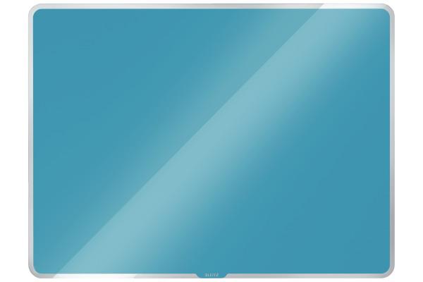 LEITZ Glass Whiteboard Cosy 7042-00-61 blau 78x48x6cm