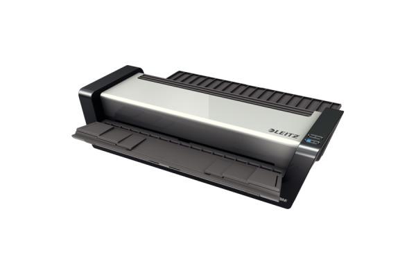 LEITZ Laminiergerät iLAM Turbo 75192000 Pro, 250mic, silber/weiss A3