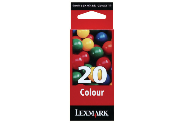LEXMARK Tintenpatrone 20 HY color 15MX120E Color Jetprinter Z51 315 S.