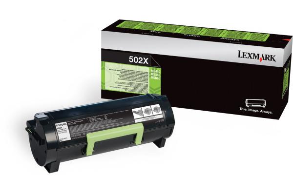 LEXMARK Toner-Modul return HY schwarz 50F2X00 MS410/610 10´000 Seiten