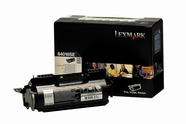 LEXMARK Toner-Modul prebate schwarz 64016SE T640/642/644 6000 Seiten