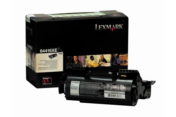 LEXMARK Toner-Modul prebate schwarz 64416XE T644 32´000 Seiten