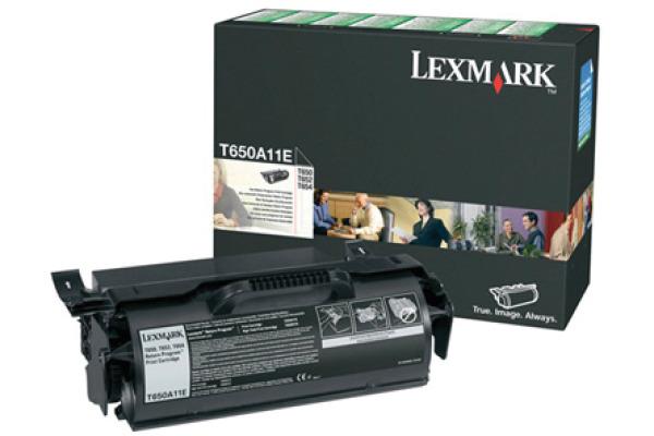 LEXMARK Toner-Modul return schwarz T650A11E T650/652/654 7000 Seiten