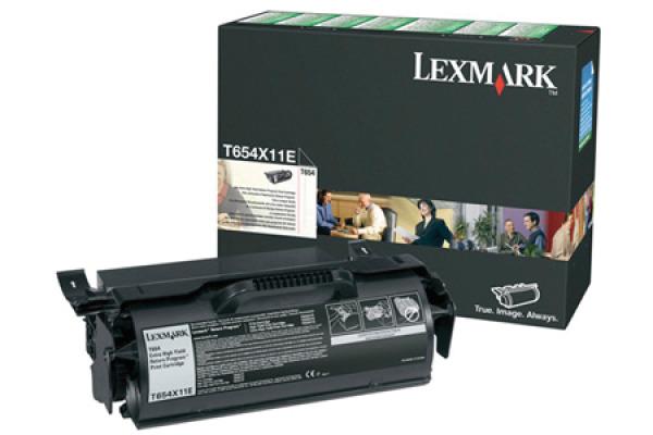 LEXMARK Toner-Modul EHY return schwarz T654X11E T654 36´000 Seiten