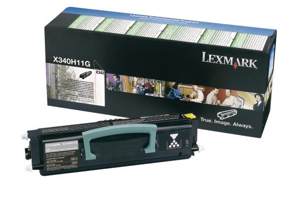 LEXMARK Toner-Modul HY prebate schwarz X340H11G X342n 6000 Seiten
