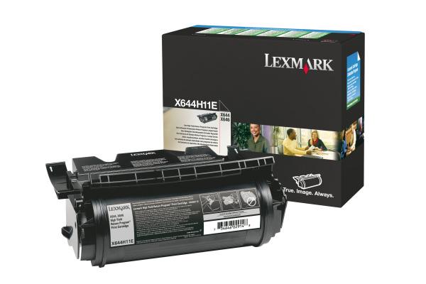 LEXMARK Toner-Modul prebate schwarz X644H11E X644e/X646dte 21´000 Seiten