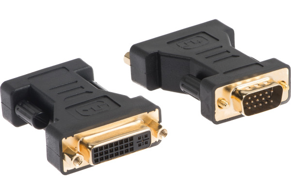 LINK2GO Adapter DVI-I - VGA AD2212BB female -male