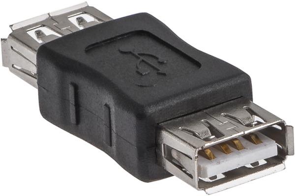 LINK2GO Gender Changer USB 2.0 GC2114BB Type A - A, female/female