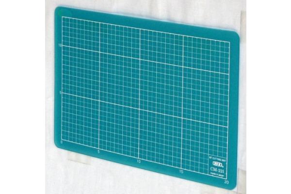 NT/LION Schneidematte A5 CM-22I blau 15x22cm