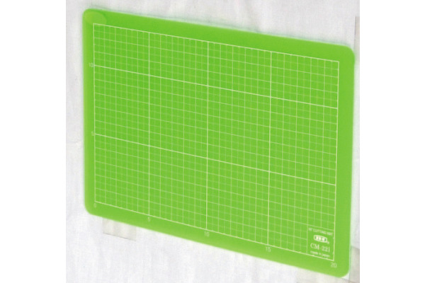 NT/LION Schneidematte A5 CM-22I grün 15x22cm