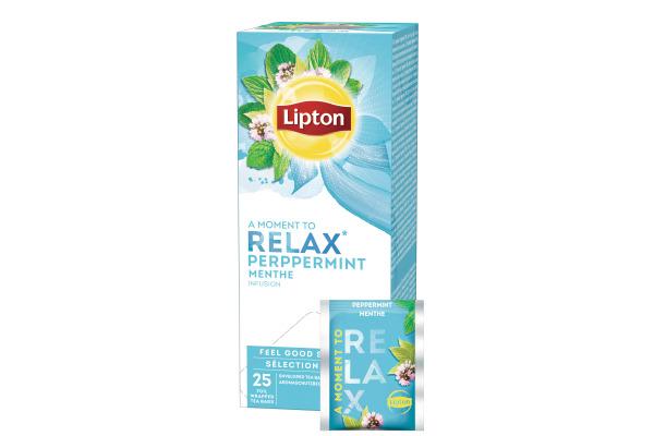 LIPTON Pfefferminze Tee 160293 25 Beutel
