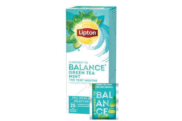 LIPTON Mint Green Tea 590366 25 Beutel