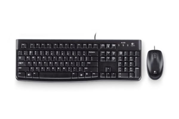 LOGITECH Desktop MK120 920002559 black