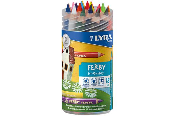 LYRA Farbstifte Ferby 3623180 18 Farben