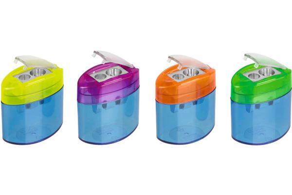 M+R Dosenspitzer zweifach 0902 0050 Kunstoff, assortiert