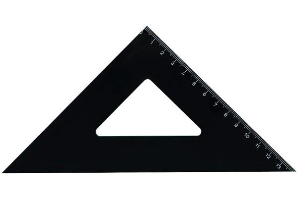 M+R Winkel 13cm 4720-0080 45° schwarz
