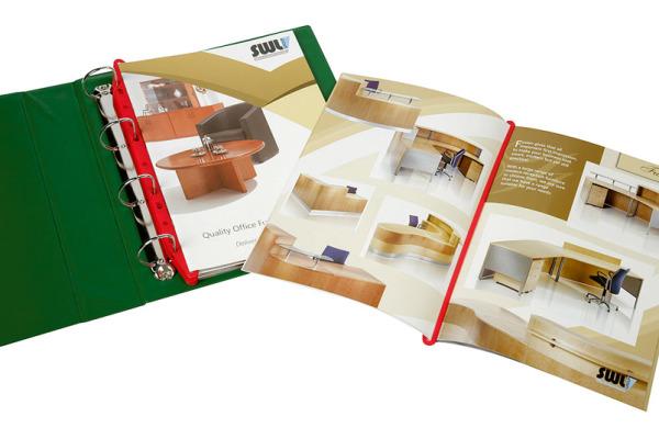 MAGI-CLIP Zeitschriftenclip 403040412 rot 12 Stück