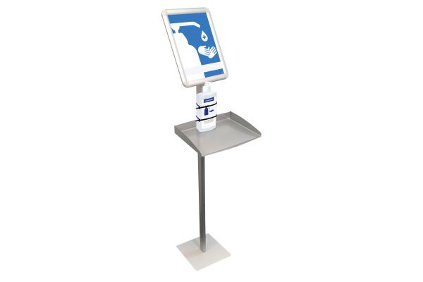 MAGNETOP. Hygienestation 146x40x32cm 11026000 mit Infoschild