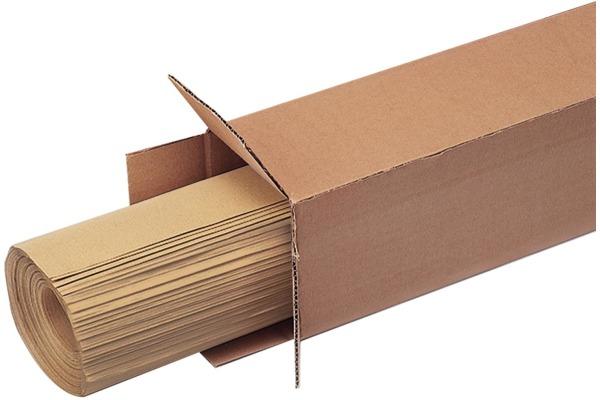 MAGNETOP. Pinwand Papier braun 1111553 50 Bogen 1100x1400mm