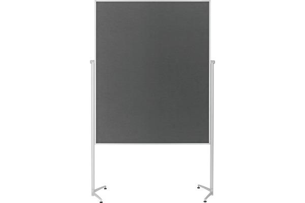 MAGNETOP. Design-Moderatorentafel 1151101 Filz grau einteilig