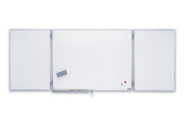 MAGNETOP. Ferroscript-Whiteboard 1240203 3-teilig 1200x900mm
