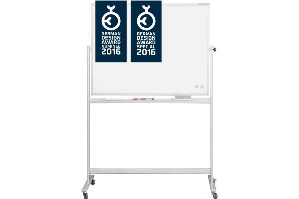 MAGNETOPLAN Design-Whiteboard SP 1240489 Stahl, mobil...